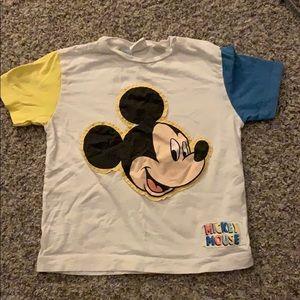 Zara Shirts & Tops - Zara Mickey t-shirt 2-3